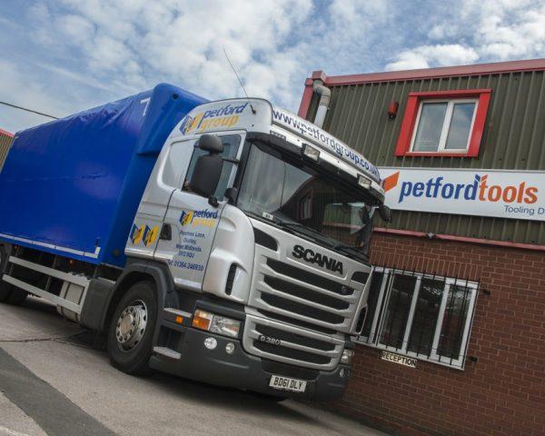 petford group lorry